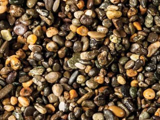 Aquatic gravel