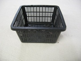 Square shallow planting basket