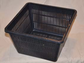 Aquatic basket 10 litre square
