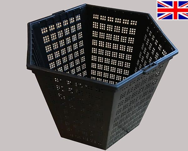3 litre Aquatic Basket -18cm hexagonal