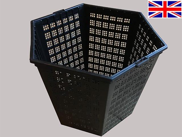 3 litre Aquatic Basket -18cm hexagonal